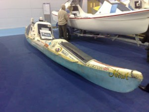 Peter Bray's kayak